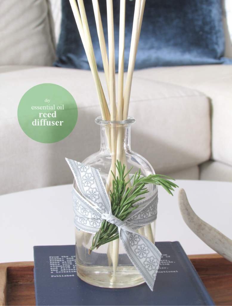 Diy Essential Oil Home Reed Diffuser Francois Et Moi