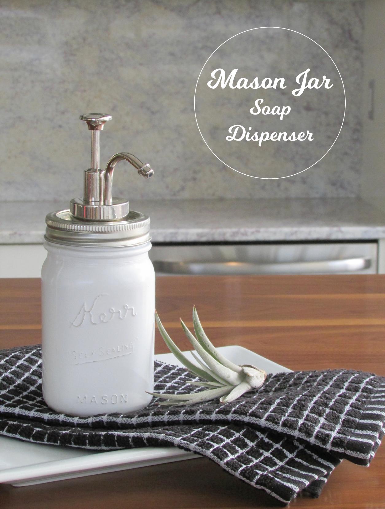 Milk Glass Soap Dispenser Diy Francois Et Moi