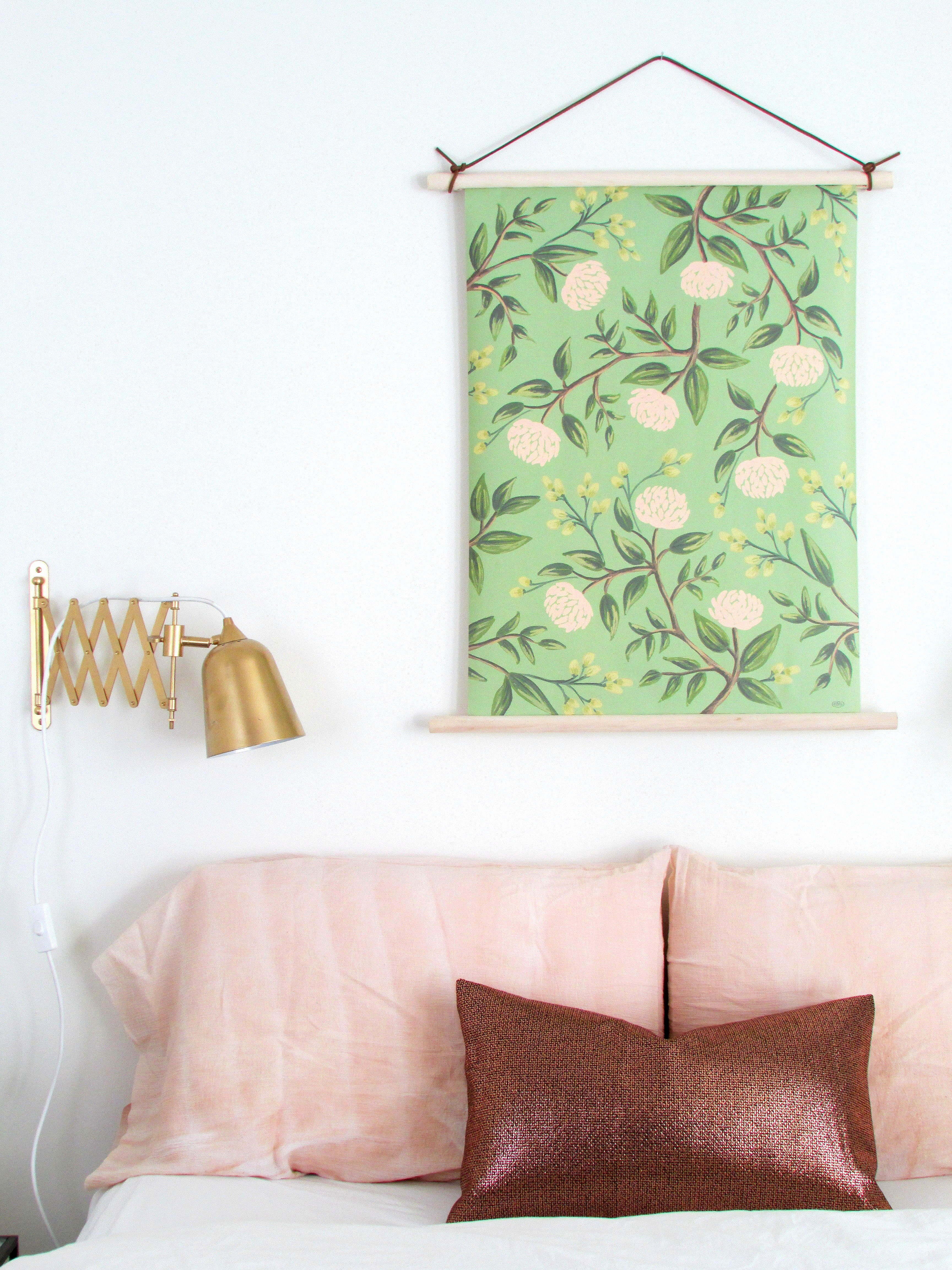 Pull-down Style Botanical Wall Hanging - Francois et Moi