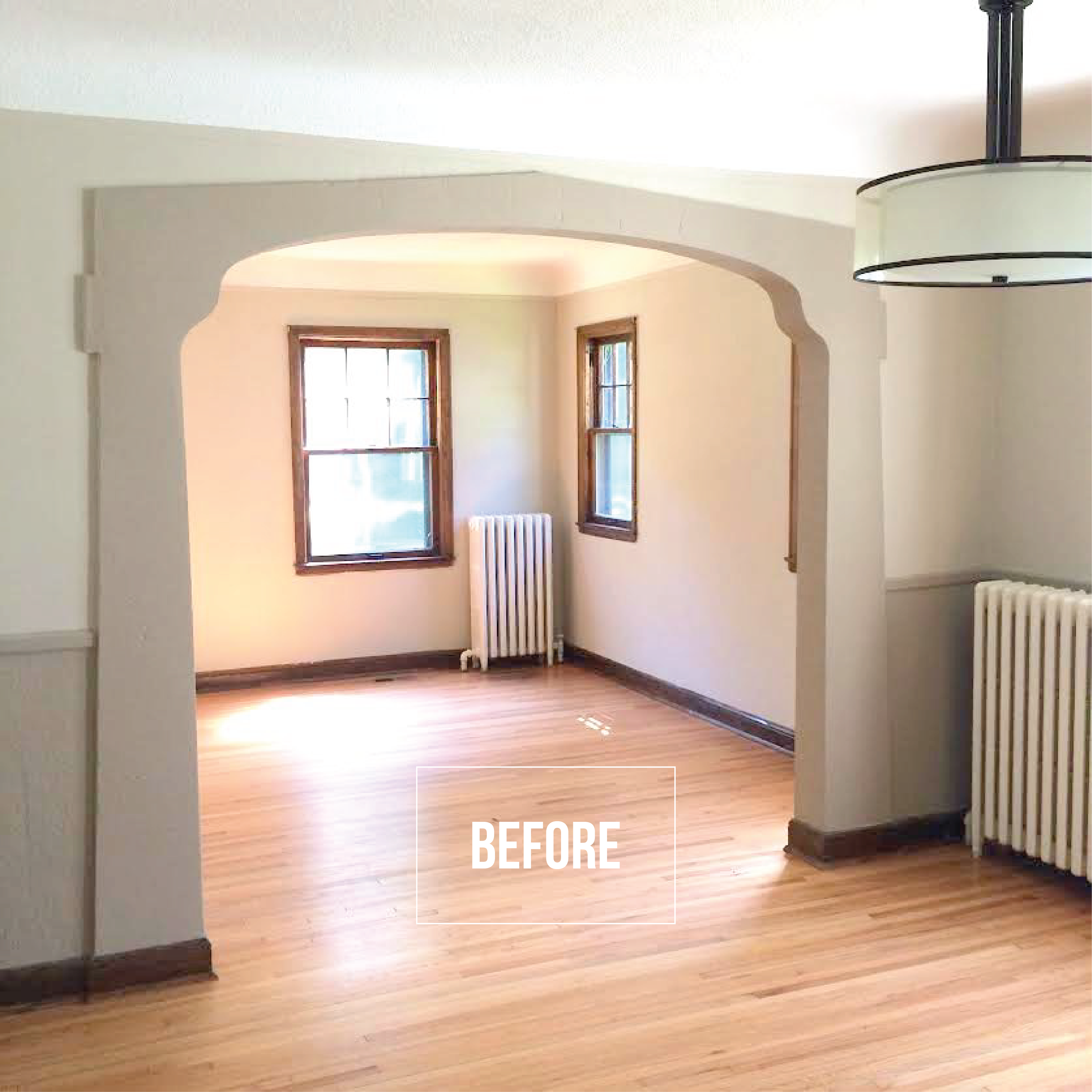 How To Center A Light Fixture Using A Ceiling Medallion