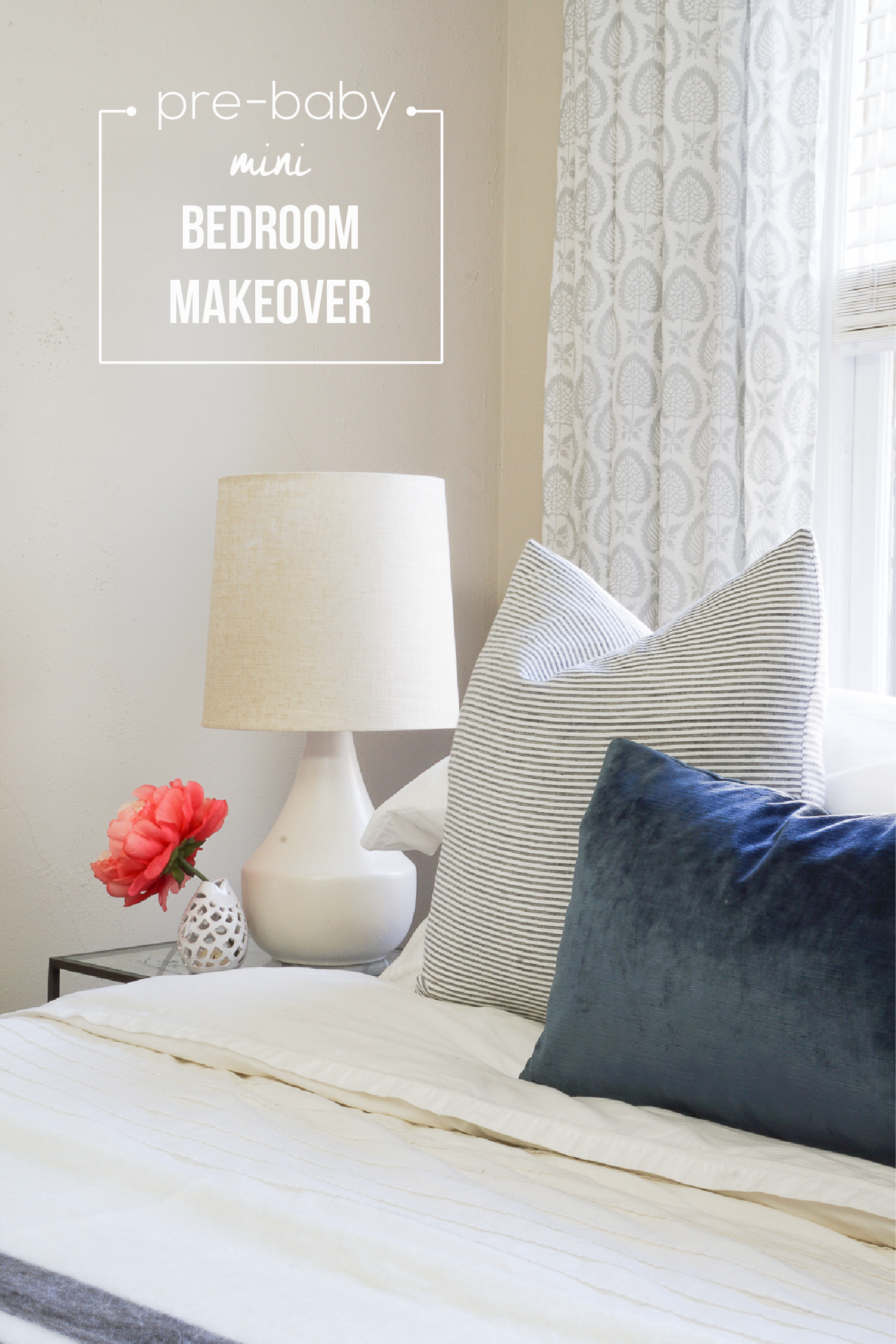 We need all the sleep we can get before this b b  arrives  A Mini Bedroom  Makeover  see how. Our  Pre Baby  Mini Bedroom Makeover   Francois et Moi