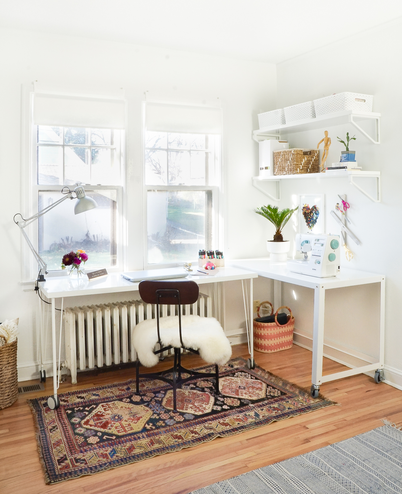 Before After Creating A Small Space Guestroom With Method Francois Et Moi
