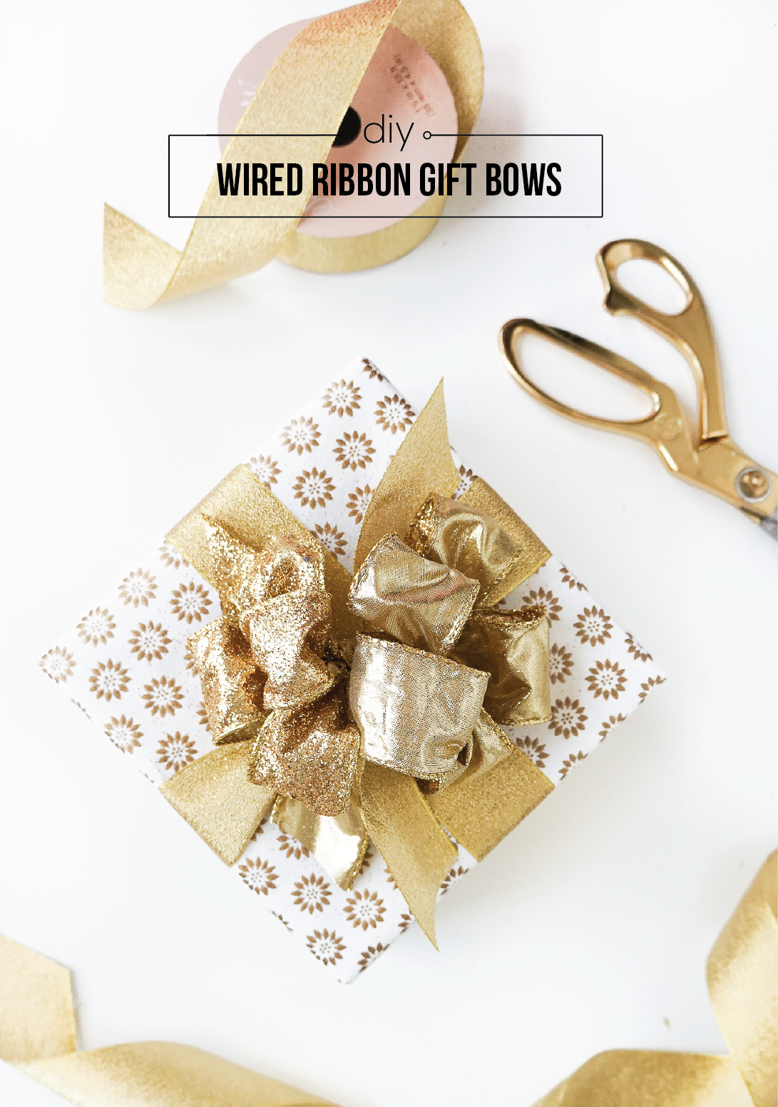 How to Tie the Perfect Ribbon Gift Bow (Video!) - Francois et Moi