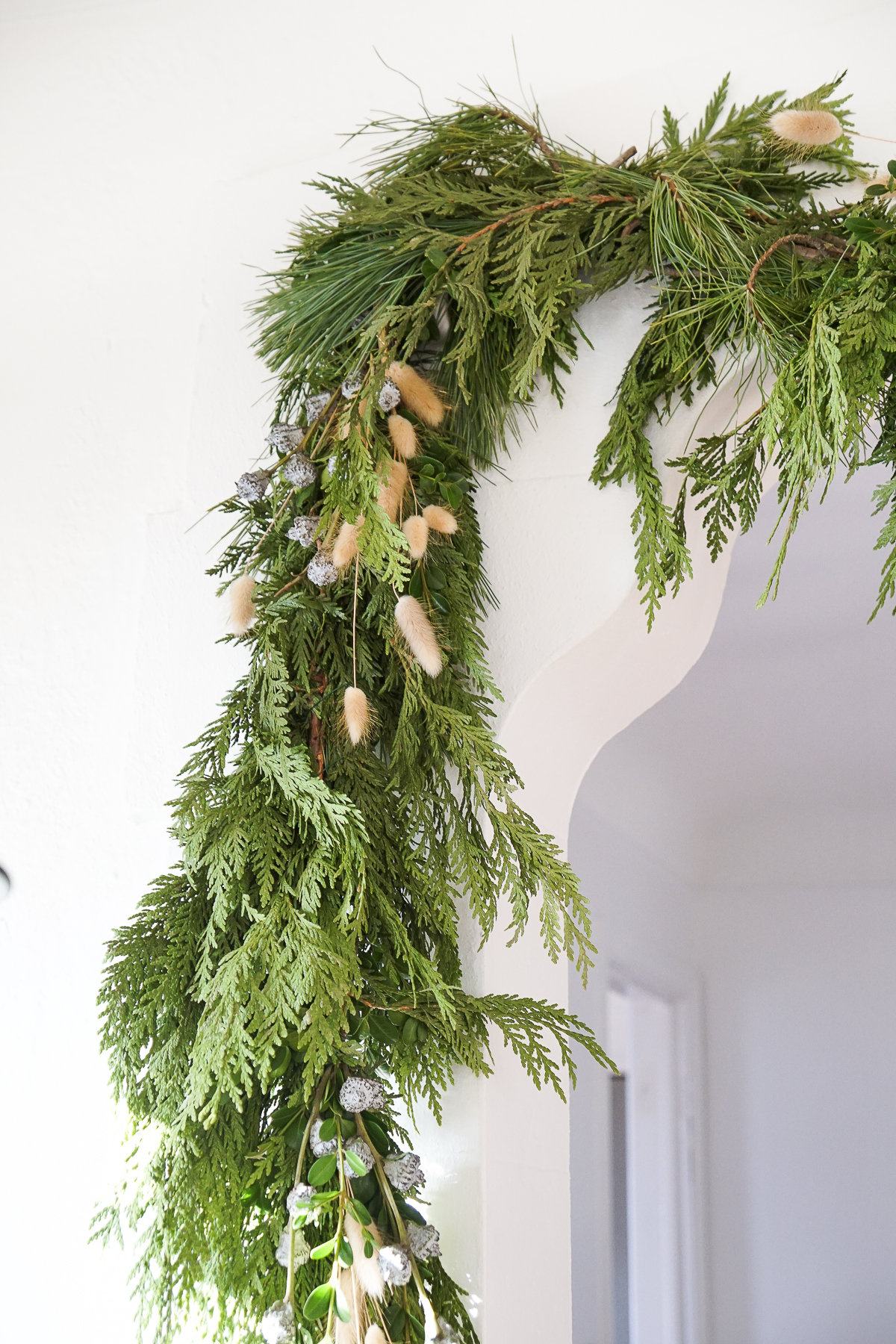 How To Hang Heavy Garland Without Damaging Your Walls
