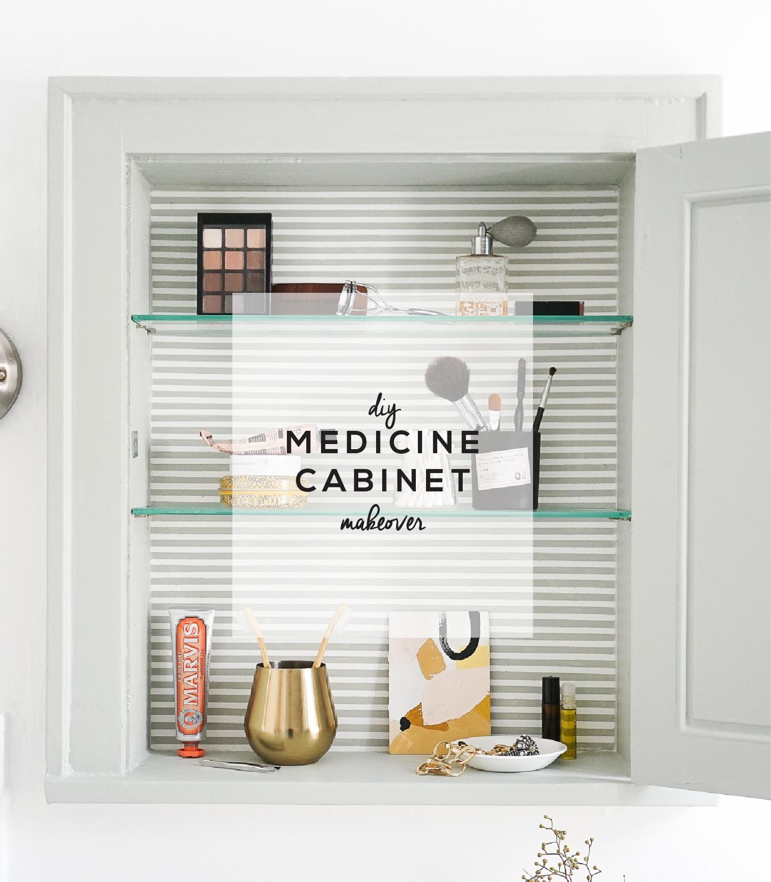 Diy Medicine Cabinet Makeover Francois Et Moi